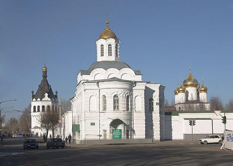 Собор Богоявления Господня Богоявленско-Анастасиинского монастыря в Костроме