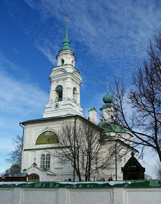 Церковь Спаса Нерукотворного Образа на Запрудне в Костроме