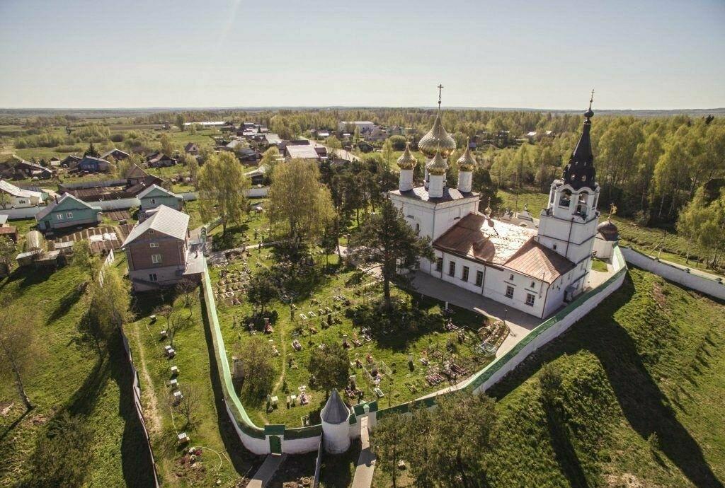Троице-Сыпанов Пахомиево-Нерехтский женский монастырь