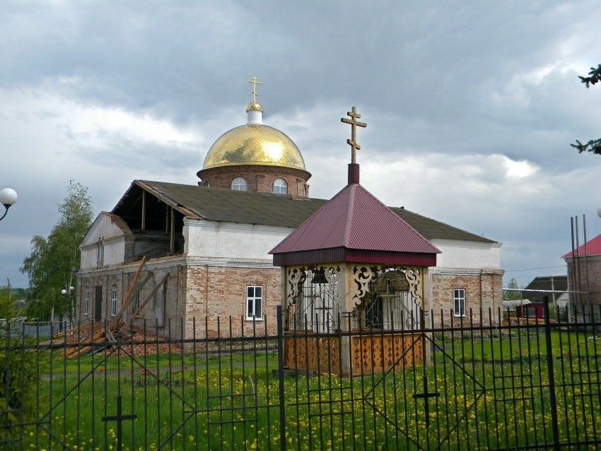 Церковь Николая Чудотворца в Мантурово