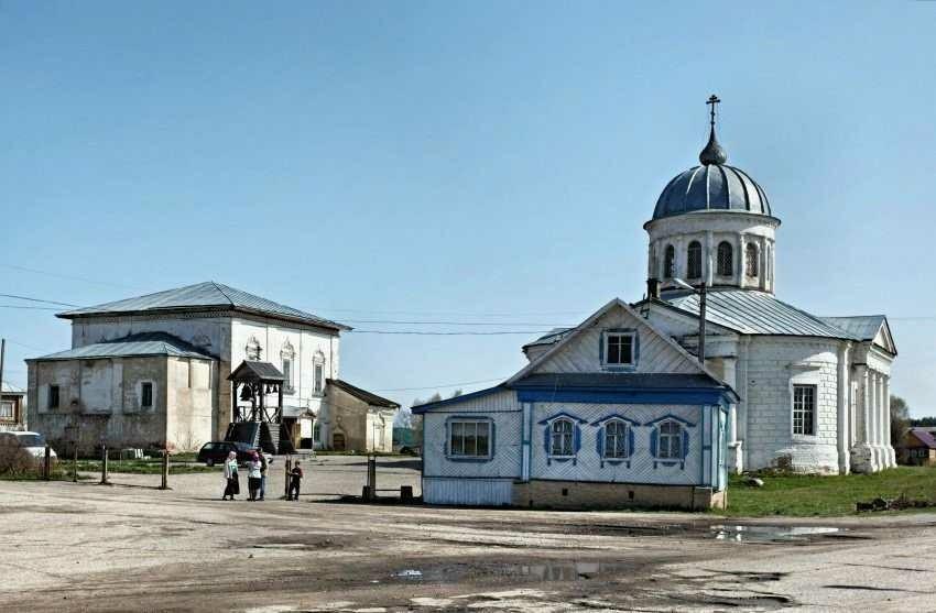 Церковь Спаса Преображения в Солигаличе