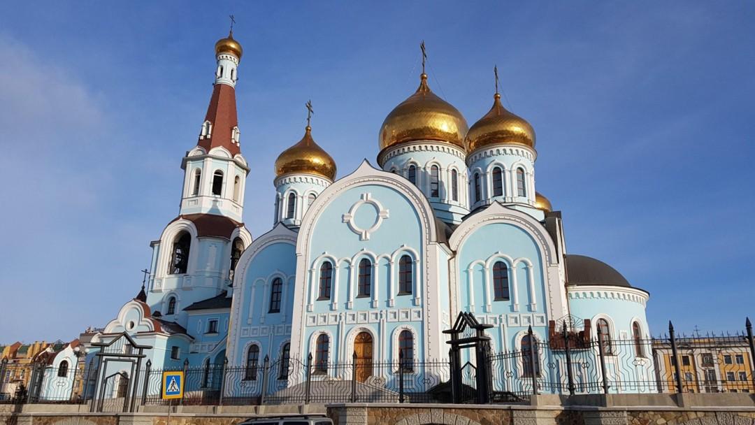 Церковь Казанской иконы Божией Матери (Чита)