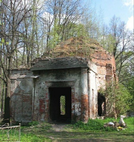 Церковь Николая Чудотворца на Введенском кладбище в Вологде