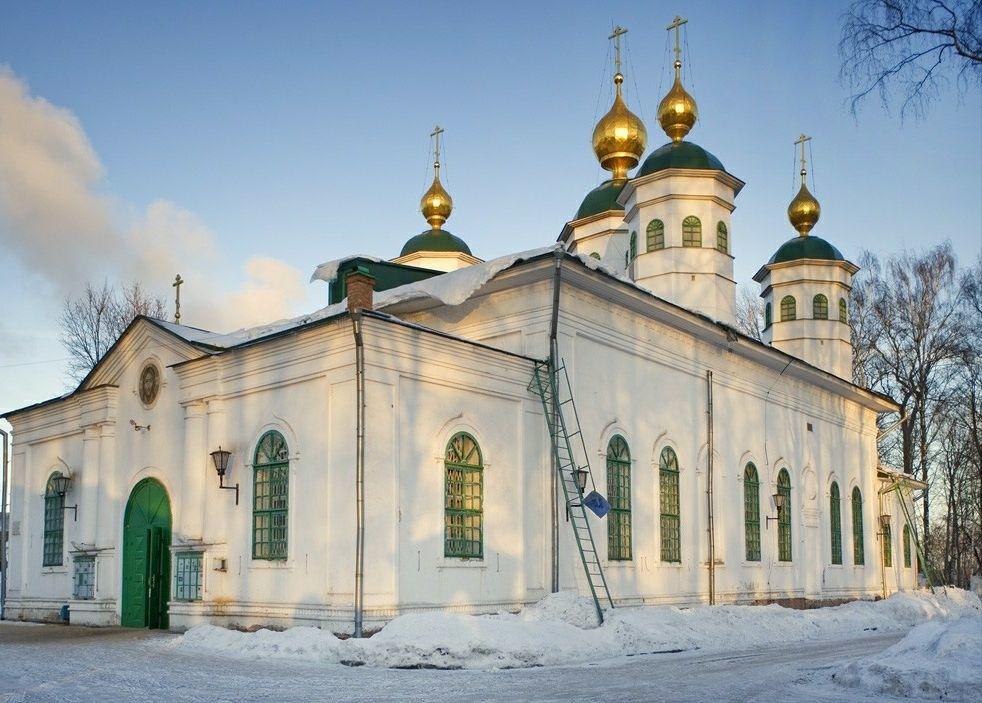 Воскресенский монастырь в Череповце