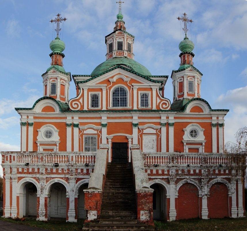 Церковь Симеона Столпника в Великом Устюге