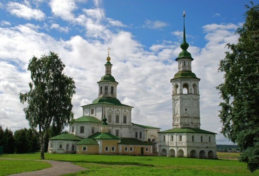 Церковь Николы Гостинского в Великом Устюге