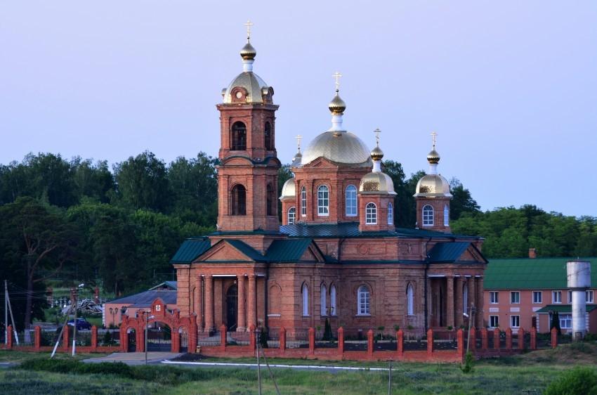 Воскресенский монастырь в Зимовеньке