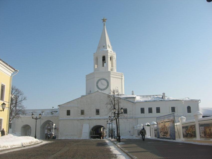 Церковь Спаса Нерукотворного Образа в Казанском Кремле
