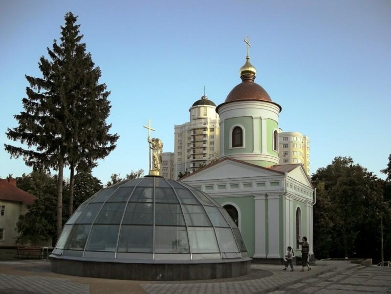 Часовня святителя Иоасафа Белгородского в Белгороде
