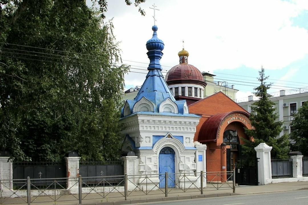 Часовня Александра Невского Казанского Подворья Раифского монастыря