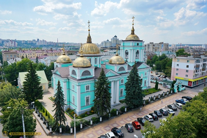 Кафедральный собор Спаса Преображения в Белгороде