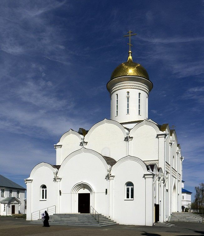 Собор Троицы Живоначальной Зилантова Успенского женского монастыря в Казани
