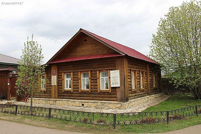 Дом-музей Марины Цветаевой в Елабуге