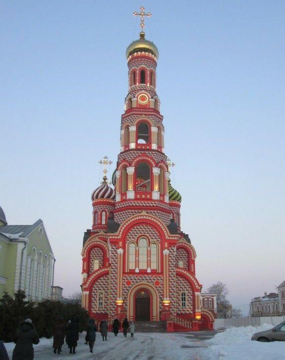 Собор Вознесения Господня Вознесенского женского монастыря в Тамбове