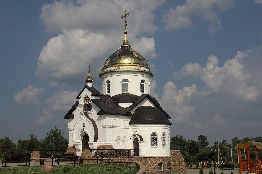 Церковь Силуана Афонского в Новой Ляде