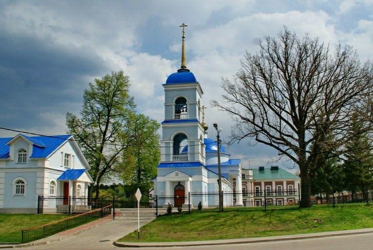 Церковь Успения Пресвятой Богородицы Тулиновского Успенского Софийского женского монастыря