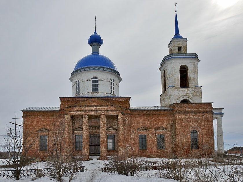 Церковь Казанской иконы Божией Матери в Васильевке