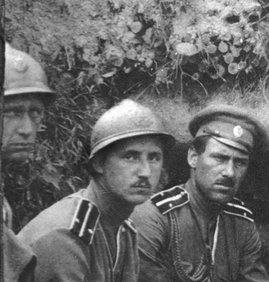 Французская каска для русской армии