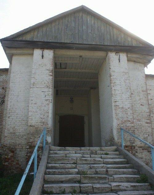 Церковь Иверской иконы Божией Матери в Верхнем Нащёкино