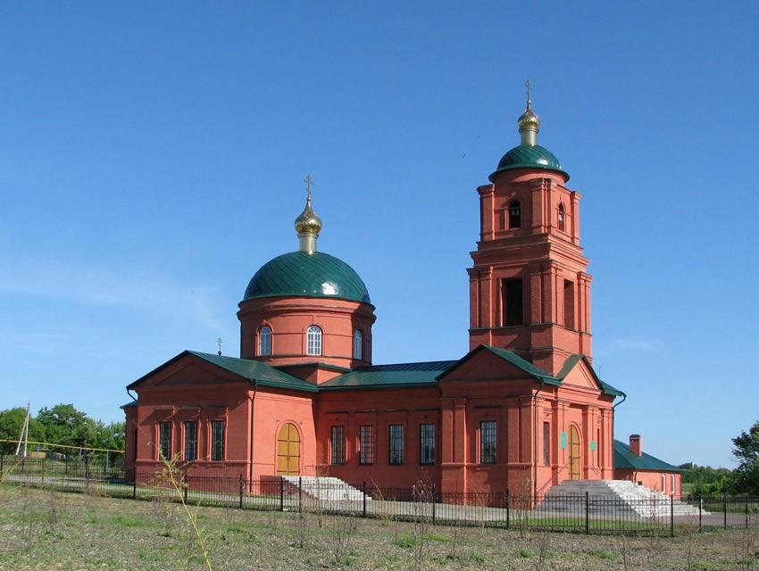 Храм преподобного Сергия Радонежского в Малом Городище