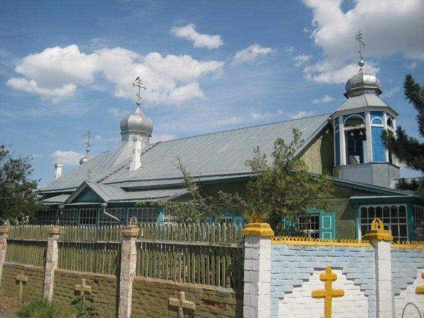 Церковь Николая Чудотворца на Заячьем острове в Астрахани