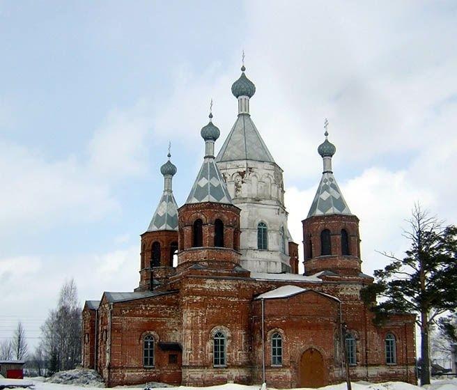 Церковь Николая Чудотворца в Большом Широком