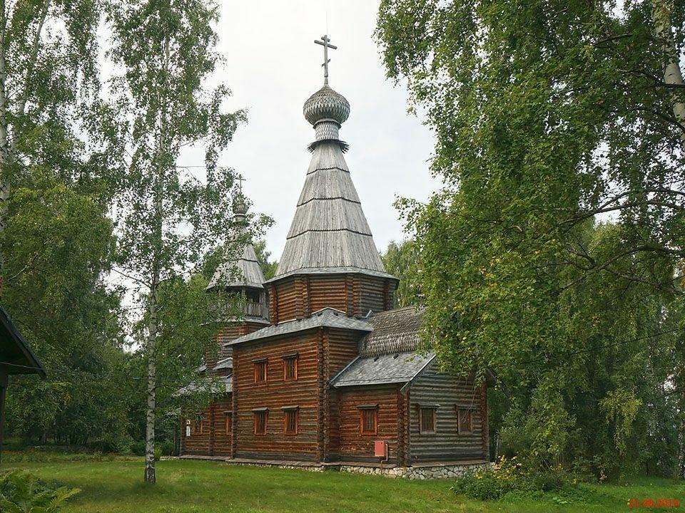 Церковь Серафима Саровского в Урково