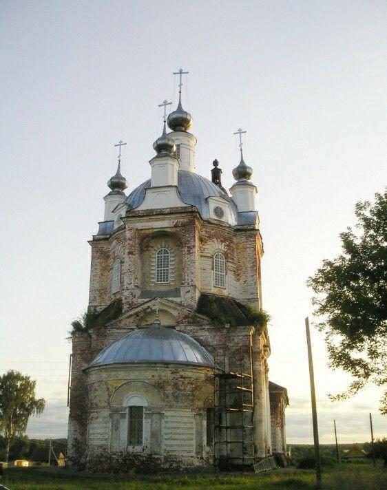 Церковь Спаса Преображения в Вершилово