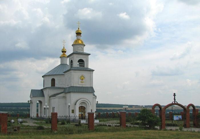 Храм Покрова Пресвятой Богородицы в Шопино