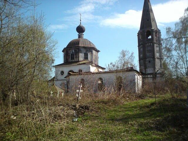 Церковь Николая Чудотворца в Дресвищах
