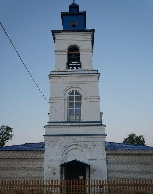 Церковь Тихвинской иконы Божией Матери в Ильино-Заборском