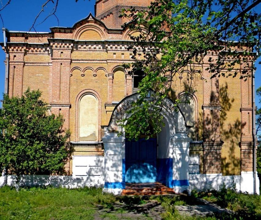 Храм святителя Николая Чудотворца в Ржаве