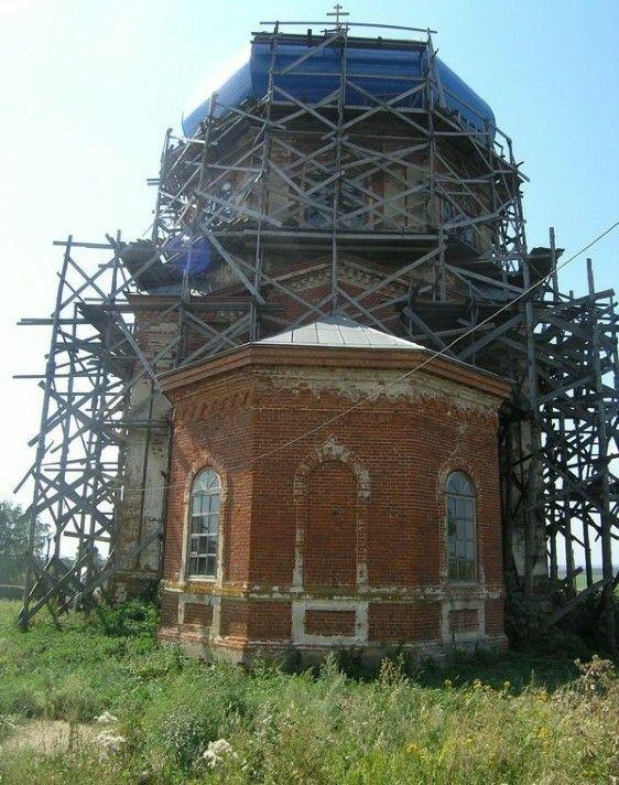 Церковь Казанской иконы Божией Матери в Вильдемвново
