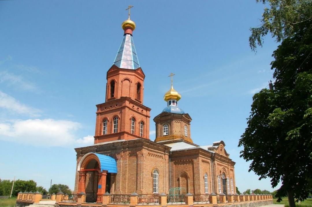 Храм Тихвинской иконы Божией Матери в Бараново