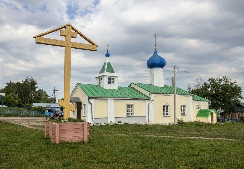Церковь Николая Чудотворца в Дальнем Константиново