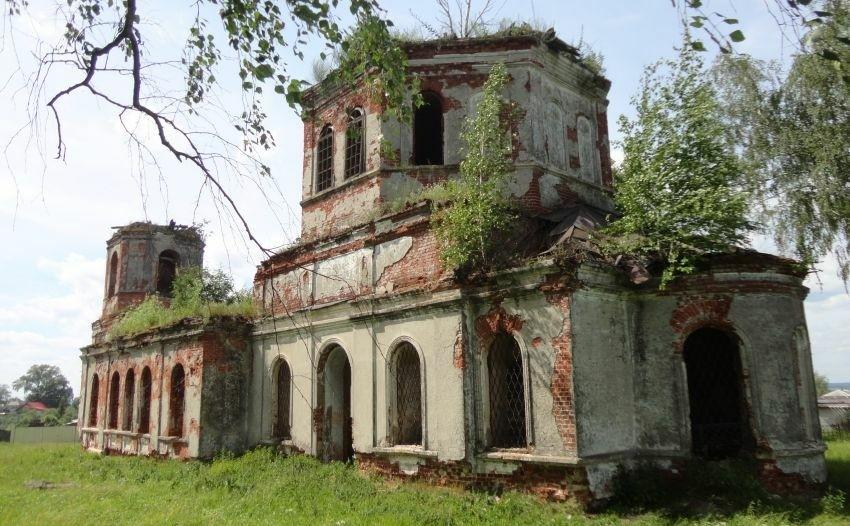Церковь Успения Пресвятой Богородицы в Досчатом