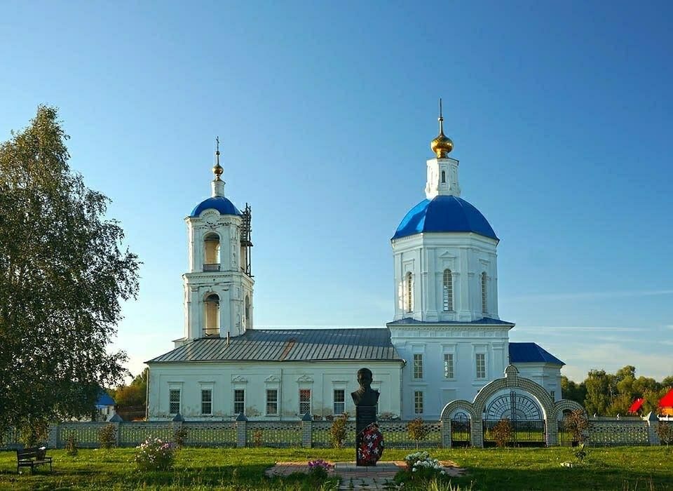 Церковь Покрова Пресвятой Богородицы в Нарышкино