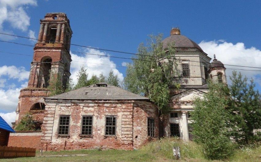 Церковь Успения Пресвятой Богородицы в Новоуспенском