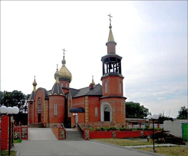 Храм святого благоверного князя Александра Невского в Конышёвке