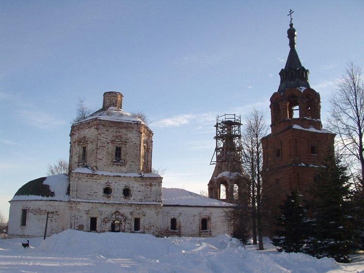 Церковь Казанской иконы Божией Матери в Григорово