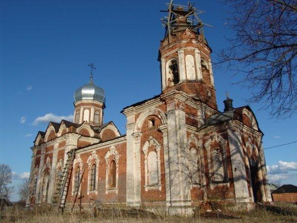 Церковь Михаила Архангела в Шарголях