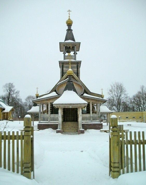 Церковь Владимира равноапостольного в Сартаково