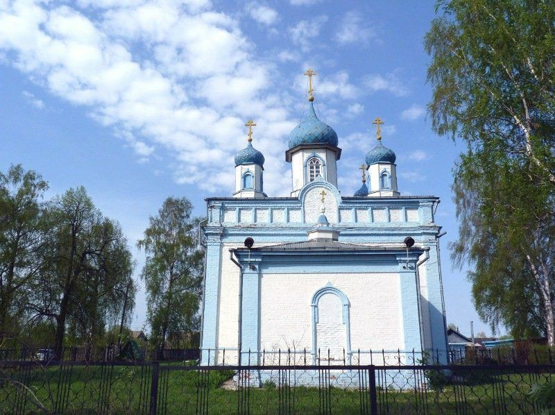 Церковь Спаса Преображения в Шеляухово