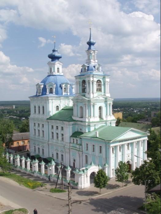 Кафедральный собор Казанской иконы Божией Матери и преподобного Сергия Радонежского в Курске