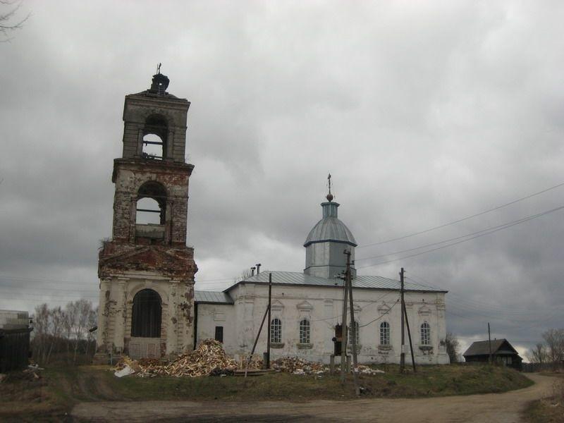 Церковь Иоанна Богослова в Никольском