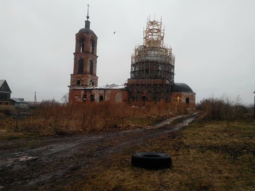 Церковь Рождества Пресвятой Богородицы в Овчухе