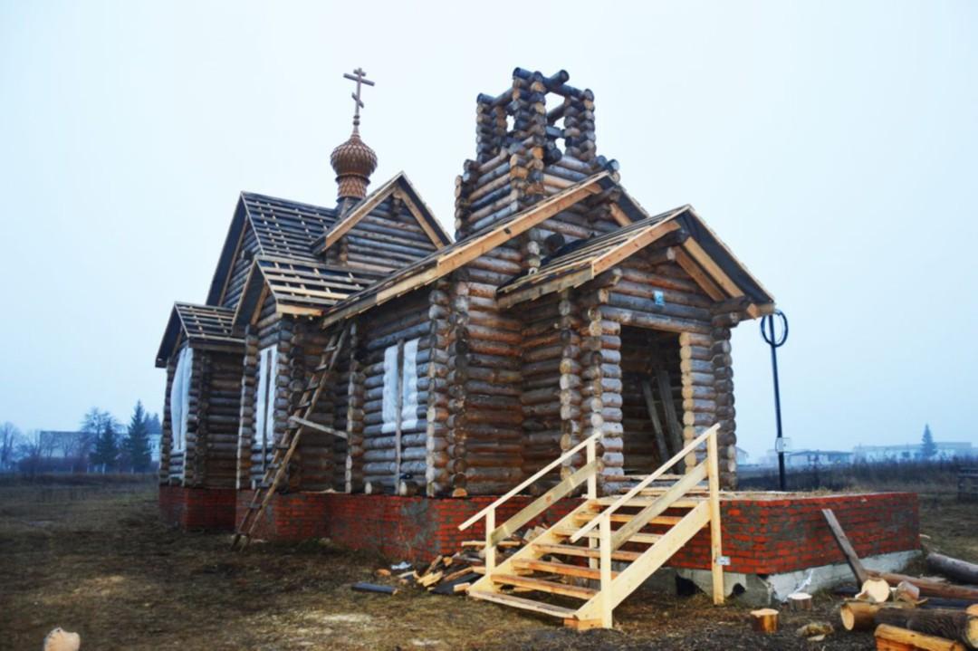 Храм святого великомученика Георгия Победоносца в Большом Шумаково