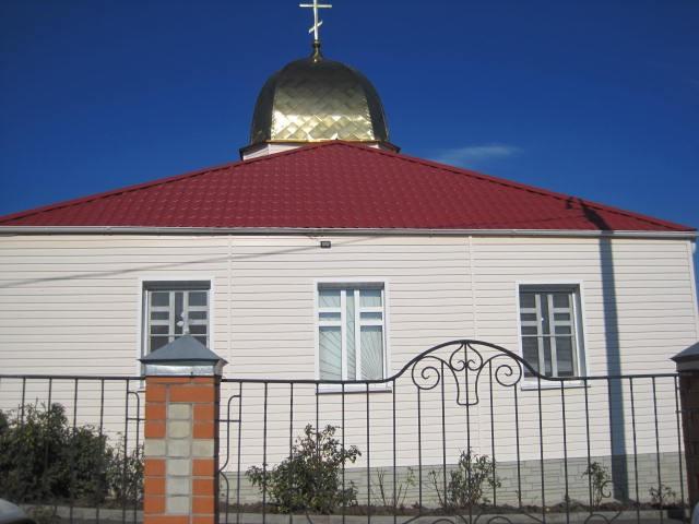Храм святого Илии Пророка в Дьяконово