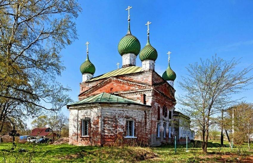 Церковь Ярославских Чудотворцев в Сопелках