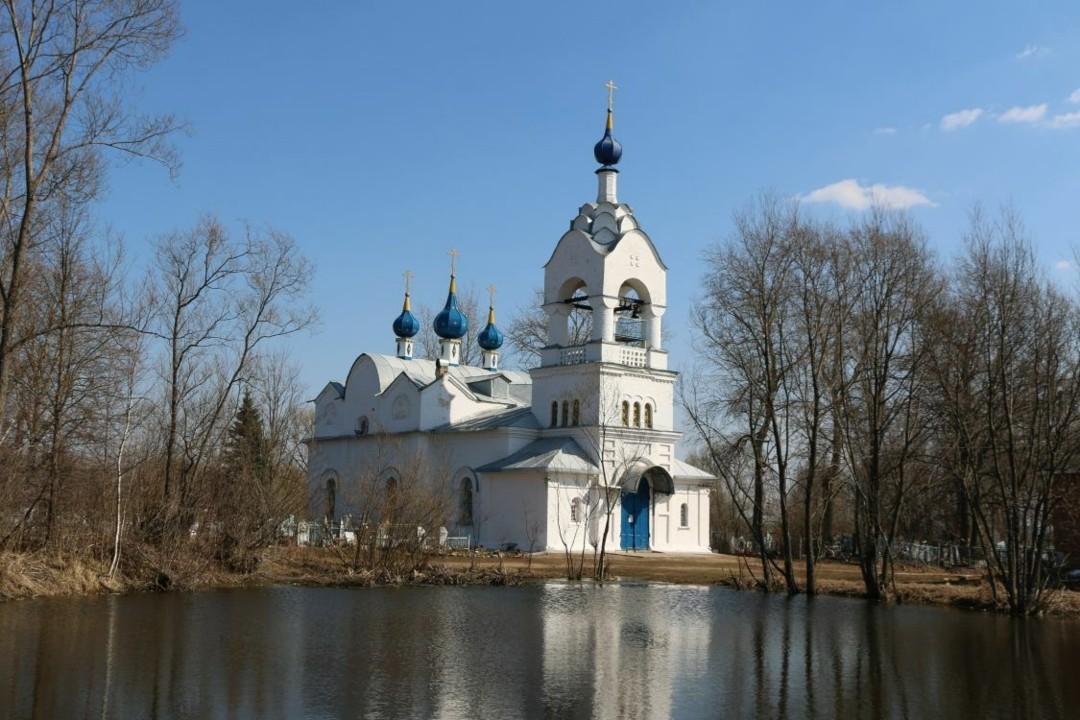 Церковь Николая Чудотворца в Курилово